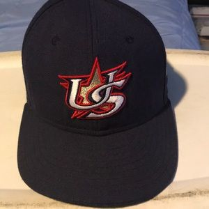 USA Baseball Fitted Hat